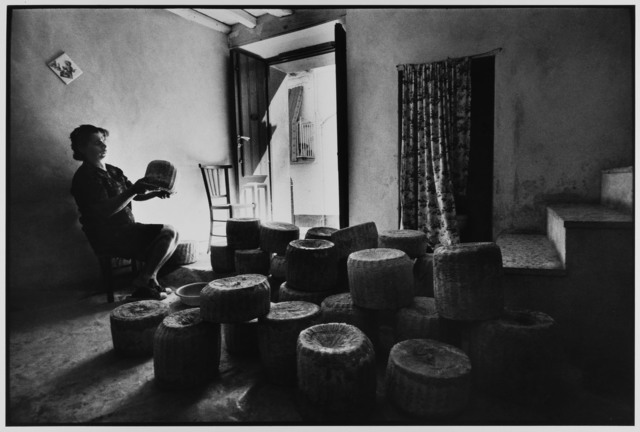 , 'Woman sells cheese from her home,  Castelbuono, Sicily, Italy,' 1974, Gallery 270