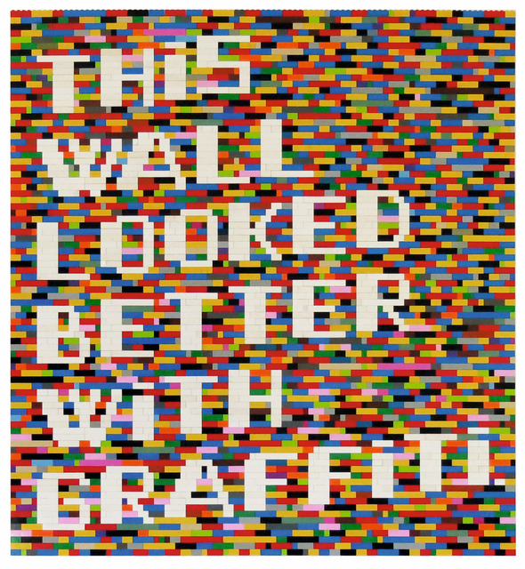 , 'THIS WALL LOOKED BETTER WITH GRAFFITI ,' 2014, KOLLY GALLERY
