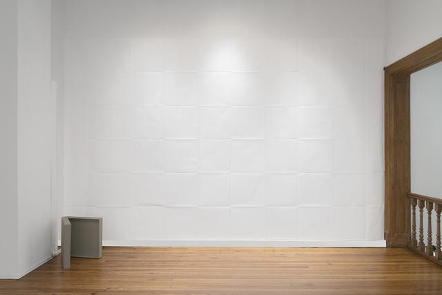 , 'Folded Wall,' 1994/2018, Herlitzka + Faria