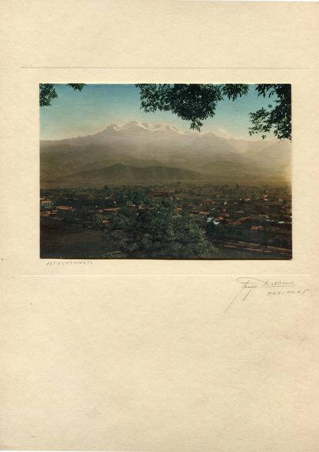 , 'Ixtaccihuatl,' , Galeria Enrique Guerrero