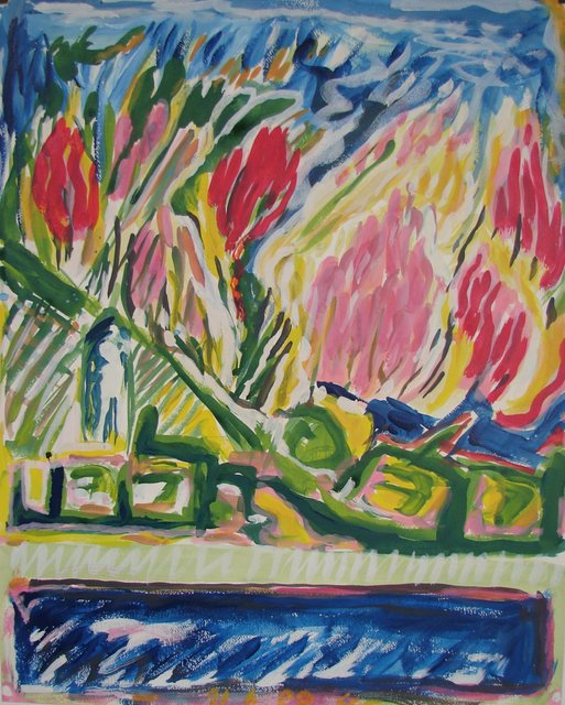 , 'Jardin d'Italie 05 - 30,' 1989, Galerie Marie-Robin