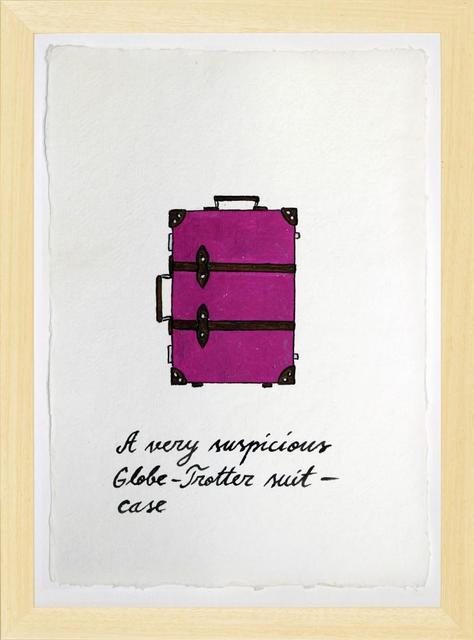 Marko Mäetamm, ' Suspicious Bags Globe Trotter Suitcase ', 2018, Purdy Hicks Gallery