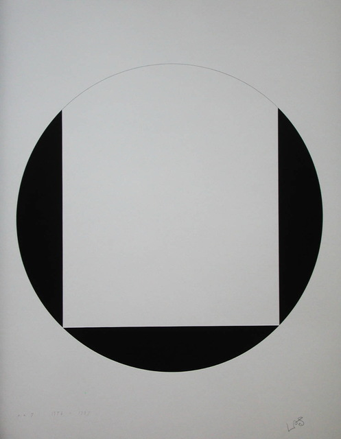 , 'quadrat und kreis - mappe blatt 3,' 1947-1976, Edition & Galerie Hoffmann