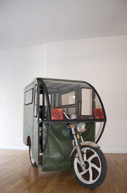 , 'What type of Car Can a Motor Tricylce be Exchanged for ?,' 2013, Klein Sun Gallery
