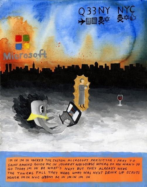 , 'MICROSOFT,' 2015, National YoungArts Foundation