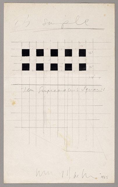 , 'Ten Suprematist Squares ,' 1965, SPROVIERI