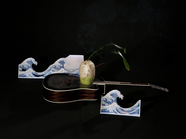 , 'Guitar and Radish,' 2012, Gallery Absinthe