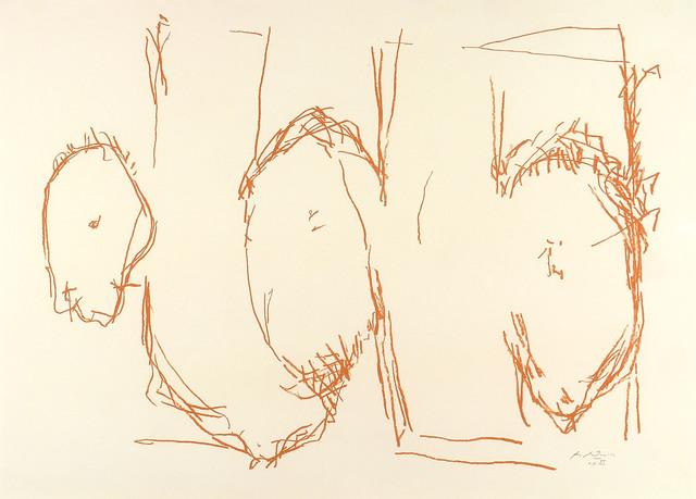 , 'ELEGY SKETCH,' 1987, Jerald Melberg Gallery