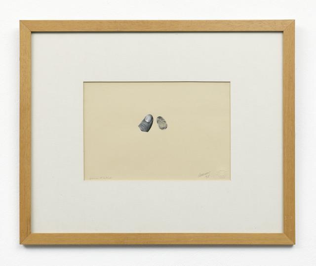 , 'Epreuve d'artiste,' 1971, Upstream Gallery
