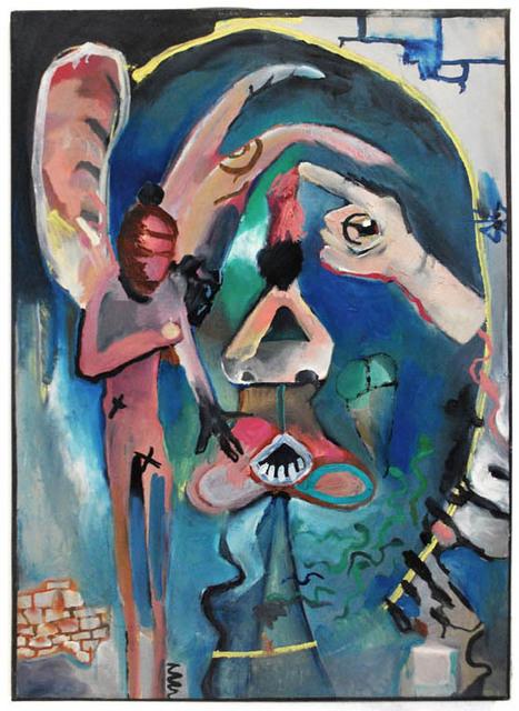 , 'Las dos Caras #2.,' 2015, Mite