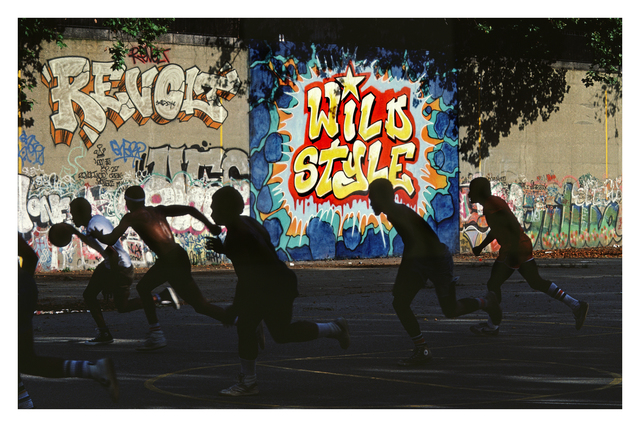 , 'Freshly Painted Wild Style Wall in Riverside Park, Manhattan, NYC,' 1983, Steven Kasher Gallery