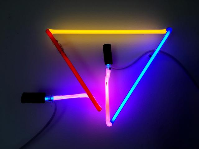 , 'Minimal Colour Triangle PRYBP,' 2018, MARS