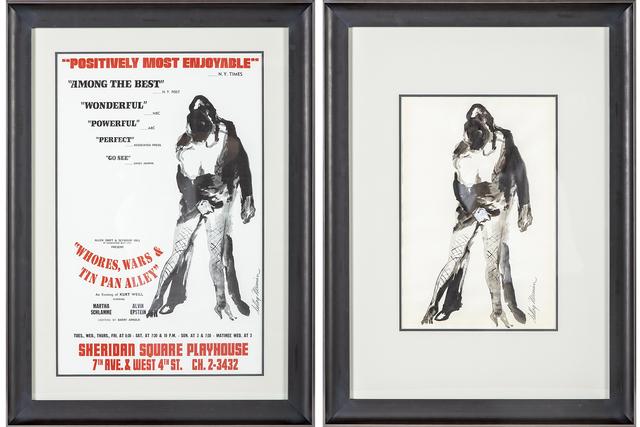 LeRoy Neiman, 'Alvin Epstein Wars Whores & Tin Pan Alley', 1969, Modern Artifact