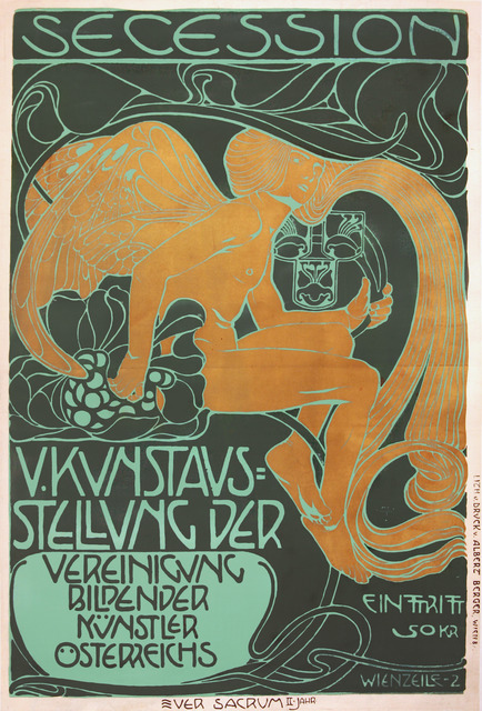 , 'Viennese Secession Exhibition 1899,' 1899, Omnibus Gallery