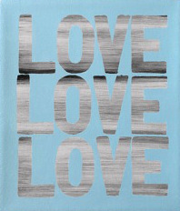 , 'Love Love Love (Blue),' 2018, Heather Gaudio Fine Art