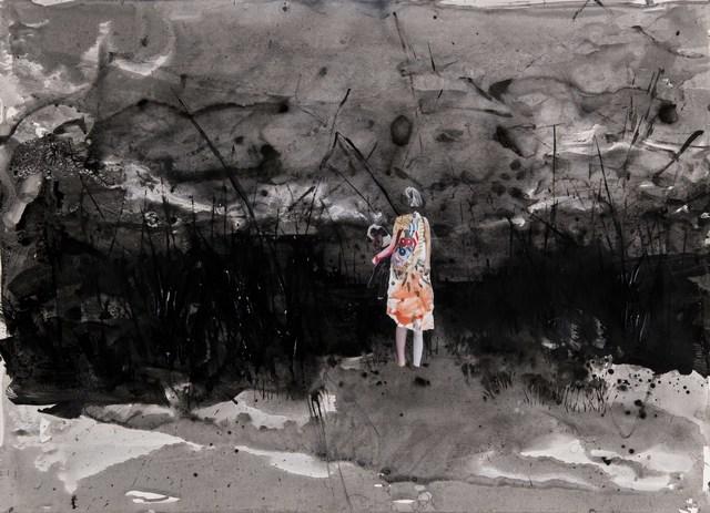 , 'Footing to a New Land II - Yeni Bir Ülkeye Ayak Basmak II,' 2018, Anna Laudel