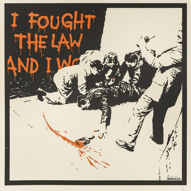 Banksy, 'I Fought the Law', 2005, Forum Auctions