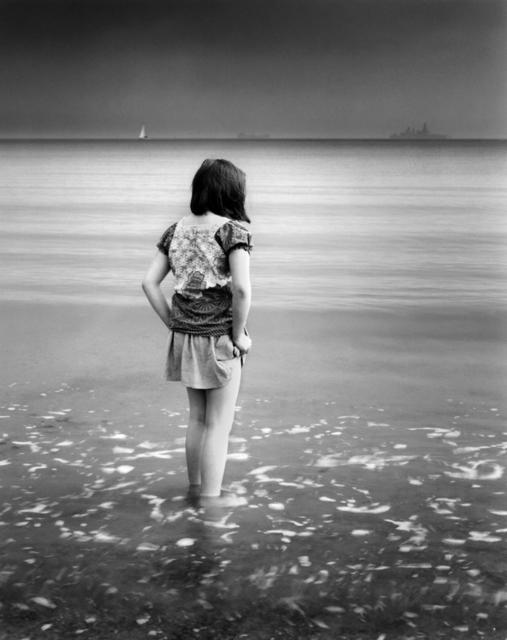Sheila Rock, 'Water's Edge, Weymouth', Photography, Silver Gelatin, ElliottHalls