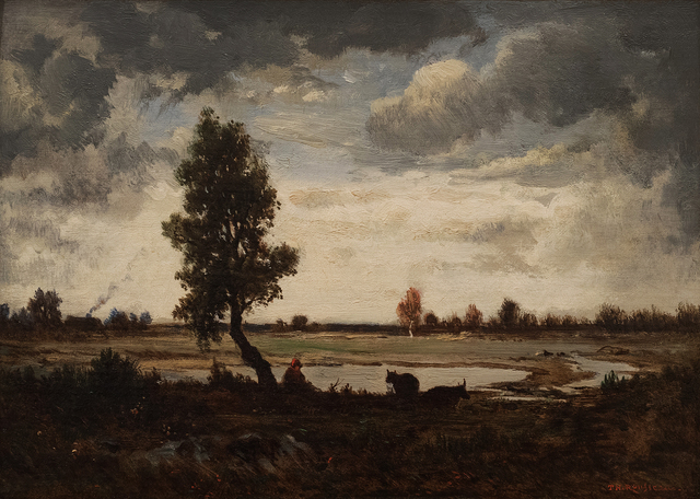 , 'Cloud Study over the Barbizon Plain,' ca. 1855, Jill Newhouse Gallery