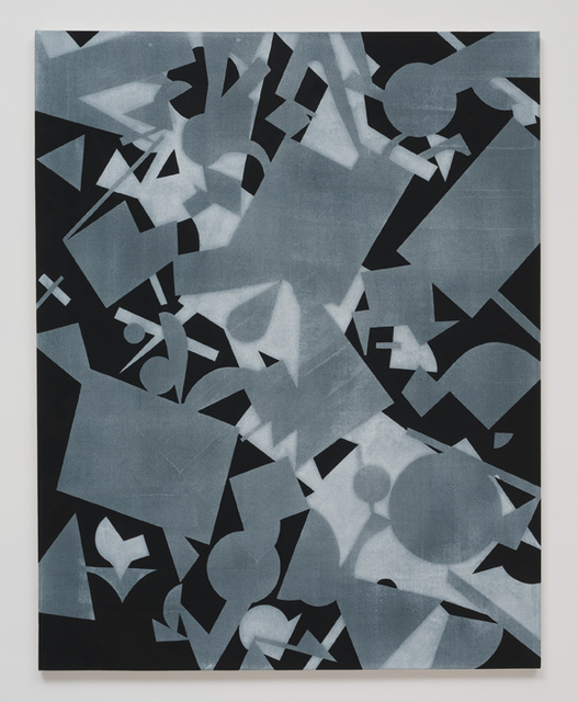 , 'Untitled (Black Shape Painting 2),' 2013, Roberts & Tilton