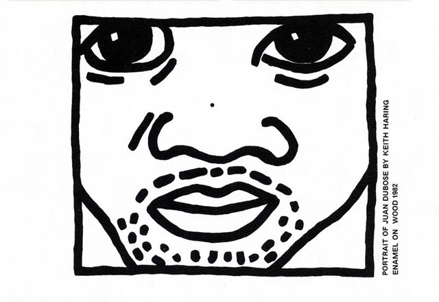 Keith Haring, 'Keith Haring Juan Dubose Area nightclub invite ', ca. 1983, Lot 180