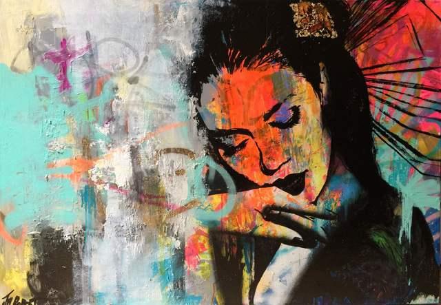 JM Robert, 'Elle se remémore ce moment', 2015, Painting, Art Supermarket