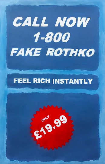 , 'Call Now 1-800 Fake Rothko ,' 2017, Imitate Modern