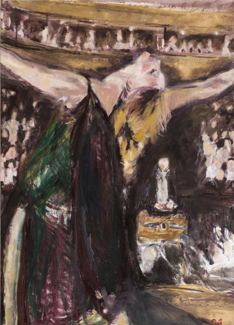 ", '""Isodora Duncan in Bolshoi Theatre"",' 2016, Krokin Gallery"