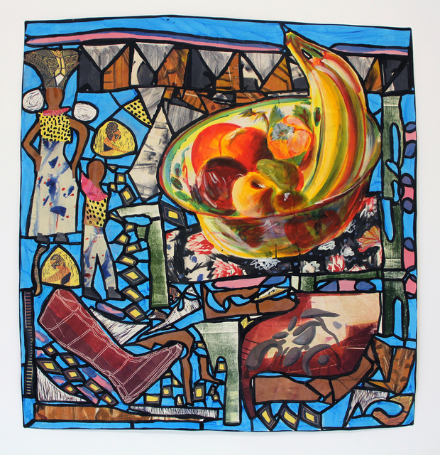 , 'Back from the Market-- Stained Glass,' 2017, Emerson Dorsch