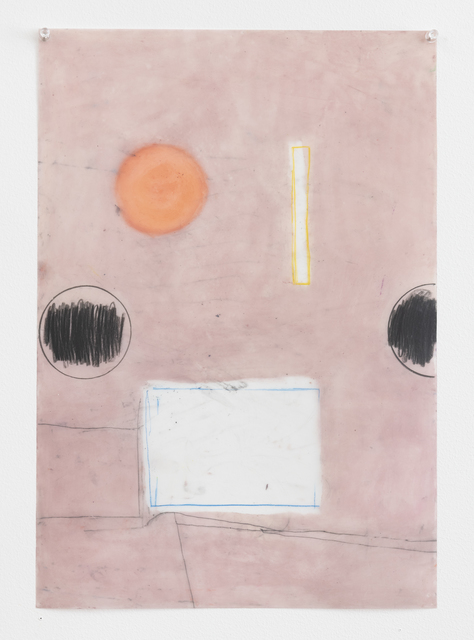 Vicki Sher, 'Untitled ', 2018, Painting, Oil pastel and pencil on drafting film, FROSCH&CO