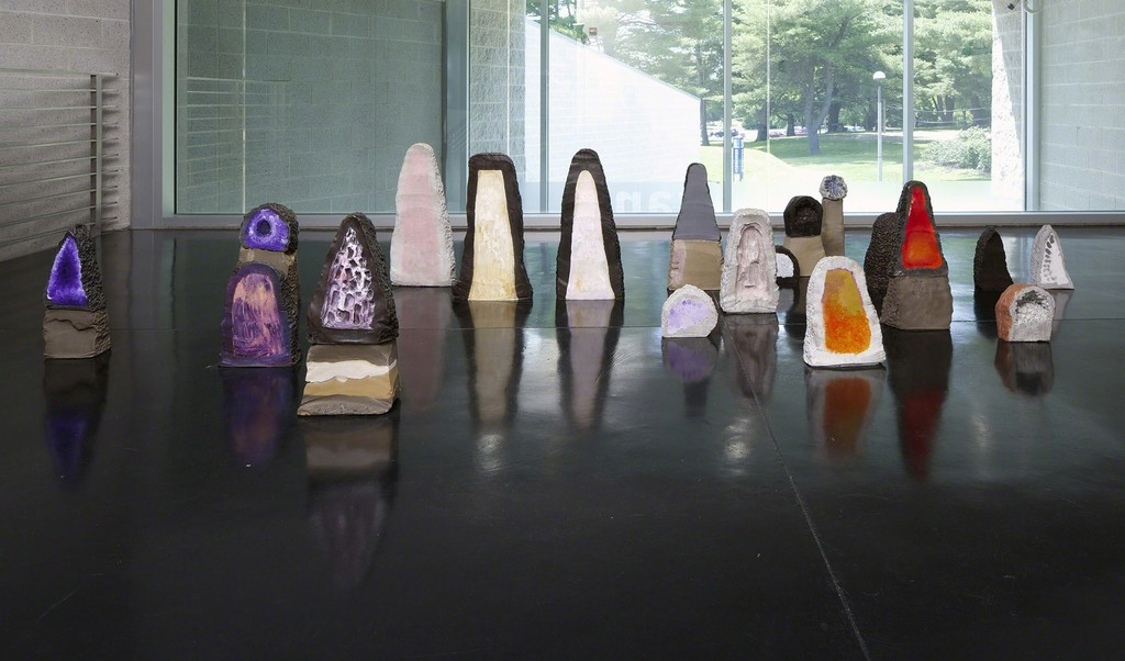 Installation view of Opener 28: Erika Verzuti — Mineral, Tang Teaching Museum, 2014