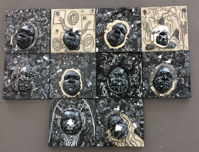 Ronald Muchatuta, 'Construction / Deconstruction ', 2018, The Melrose Gallery