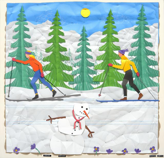 , 'Spring Skiing,' , Stremmel Gallery
