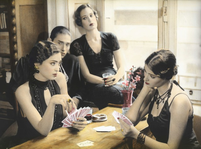 , 'Girls playing Cards, Cairo 1993 ,' 1993, Galerie Nathalie Obadia
