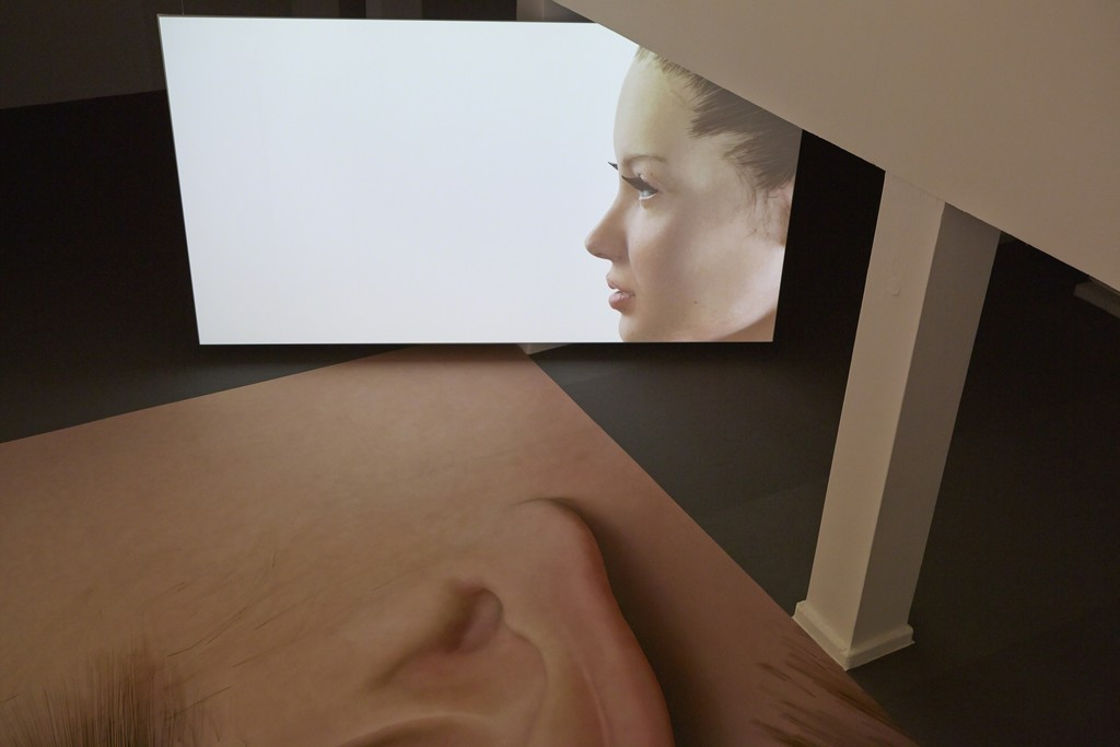 Kate Cooper, RIGGED, 2014, Installation view, Photo: Theo Cook, Courtesy of Kate Cooper