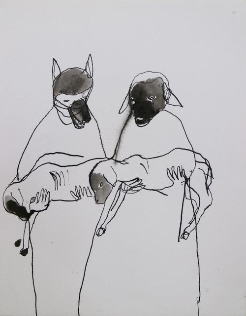 , 'Bichos [Animals],' 2018, Casa Triângulo