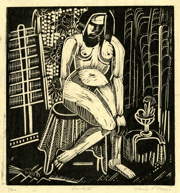 , 'Nude 1,' ca. 1927, Thomas French Fine Art