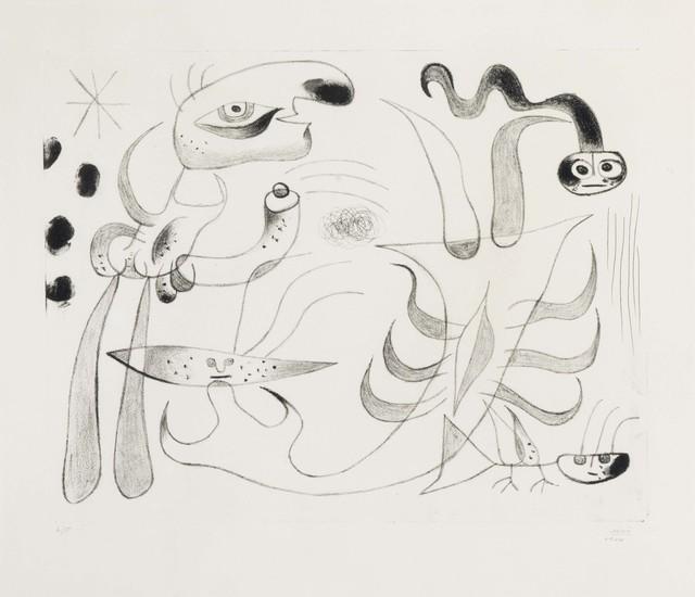Joan Miró, 'Barcelona XLIII, from Barcelona Series', 1944, Christie's