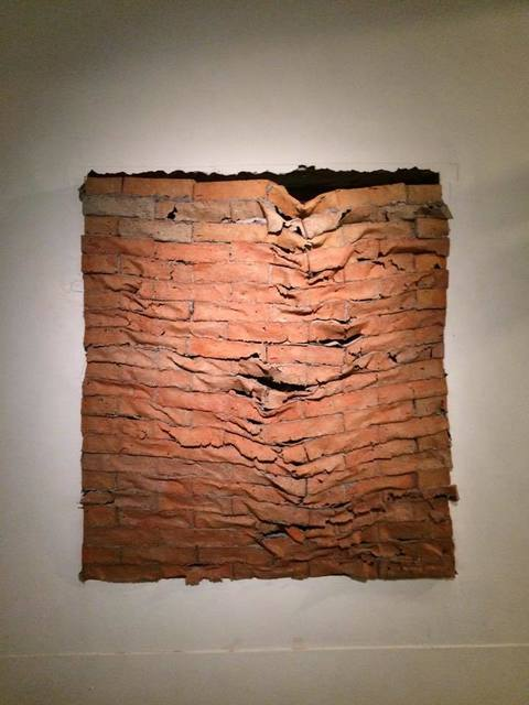 , 'Brick wall,' 2015, Double Square Gallery