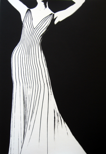 , 'Dress by Thierry Mugler, German VOGUE,' 1998, Peter Fetterman Gallery
