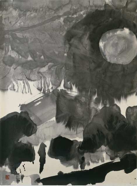 , 'At Night,' 1986, Musée d'Ixelles