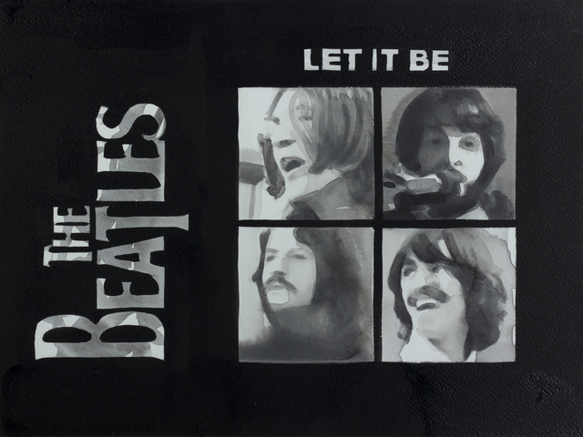 , '08 May 1970 - Let it Be, The Beatles (aus der Serie / from the series 365),' 2013, Christine König Galerie