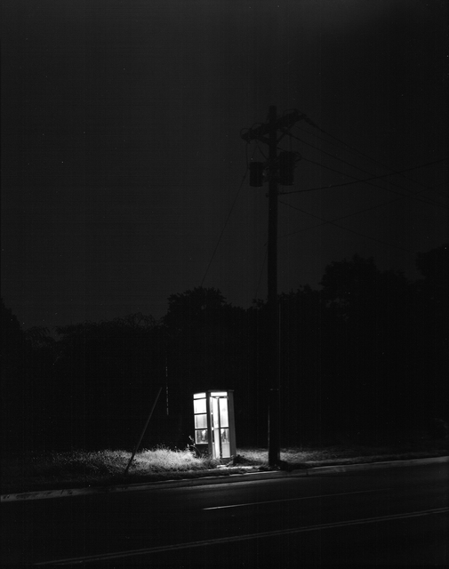 , 'Phone Booth, 3 A.M., Rahway, NJ,' 1974, Gallery 270