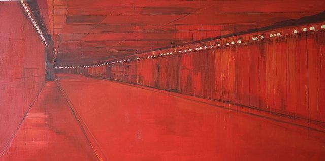 , 'Red Underpass,' 2000, Albemarle Gallery | Pontone Gallery