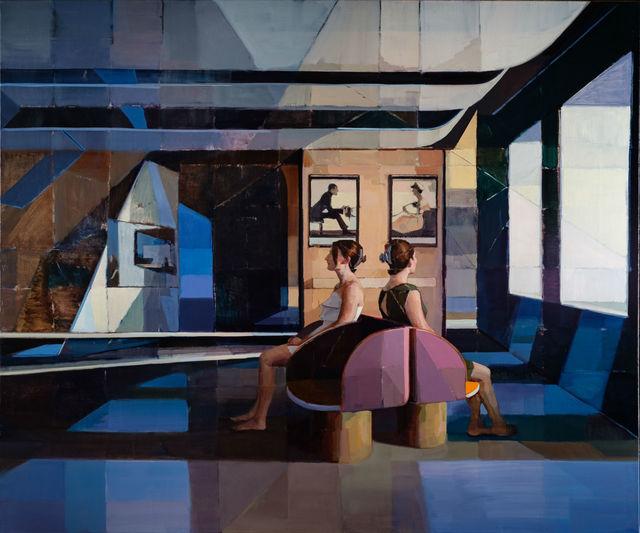 , 'Scene E,' 2017, Abend Gallery