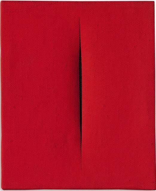 , 'Concetto Spaziale Attesa,' 1964, Galleria Tega