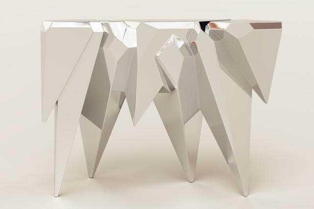 , 'Crystals Console,' 2014, Garrido Gallery