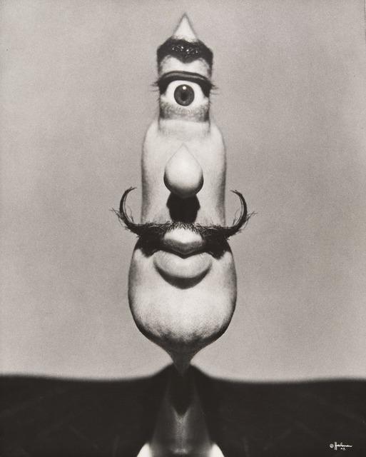 ", '""Dalí's Mustache Cyclops,"" Dalí's Mustache (cover),' 1949, Jeu de Paume"