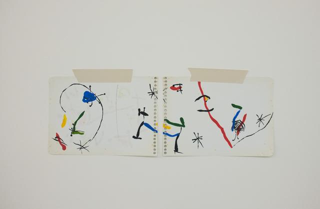 , 'Homenagem – Teste de cores imaginario (Miró) ,' 2017, Espacio Mínimo