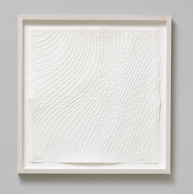 , 'White Structure,' 1965, Galerie Koch